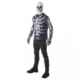 Camiseta Skull Trooper de Fornite adulto tallas