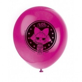 Globos LOL Surprise 8 uds 30 cm