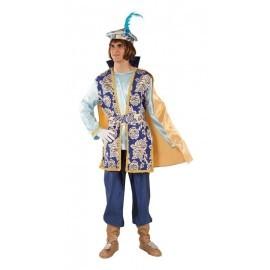 Disfraz de Paje real Melchor lujo adulto talla 52