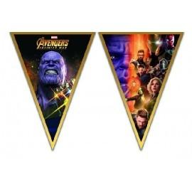 Guirnalda Los Vengadores Infinity War 230 cm cumpleaños