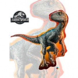 Globo barato dinosaurio Jurasic world Raptor 93 cm