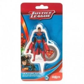Vela Superman 7,5 cm liga de la justicia