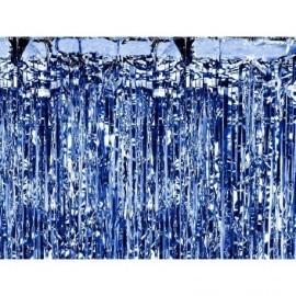 Cortina de fiesta azul 90x250 cm