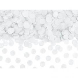Confeti blanco en circulos 15 gr decoracion o Globo baratos
