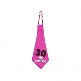 Corbata 30 cumpleaños sin limites 59 xm
