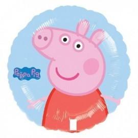 Globo barato Peppa Pig para helio o aire 45 cm