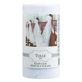 Tull blanco 59.4m x 15 cm