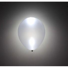 Globo baratos plata con luz led 5 uds