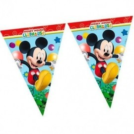 Banderas triangulares mickey playful