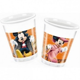 Vasos Mickey Mouse Halloween 8 uds