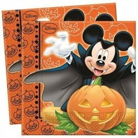 Servilletas Mickey Mouse Halloween 20 uds
