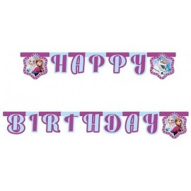 Guirnalda cumpleaños Frozen 215 cm