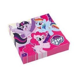 Servilletas My Little Ponny 20 uds 33x33