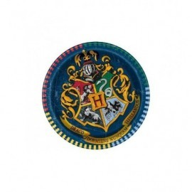 Platos Harry Potter 18 cm originales 8 uds