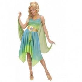 Disfraz de diosa del zodiaco griega talla s