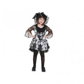 Disfraz de lady pirata 5-6 años