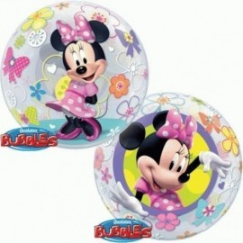 Globo burbuja minnie mouse disney