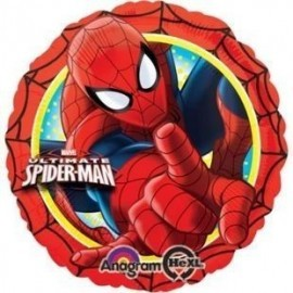 Globo spiderman ultimate foil 18 45 cm helio