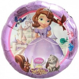 Globo princesa sofia disney helio 18 45 cm foil