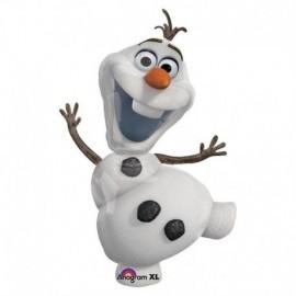 Globo olaf frozen muñeco de nieve
