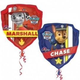 Globo patrulla canina chase-marshall 63x68 cm