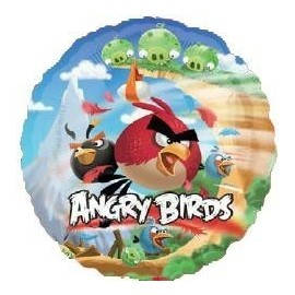 Globo angry birds palo 9 aire