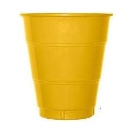 Vaso oro plastico 10 unidades 200 cl