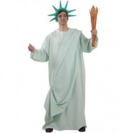 Disfraz de estatua de la libertad talla xl