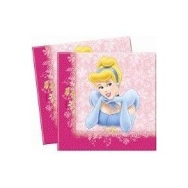 Servilletas princesas beauty disney 20 unidades