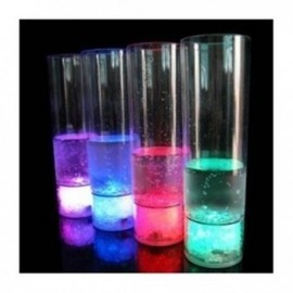 Vaso tubo con luz led