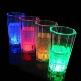 Vaso refresco con luz led