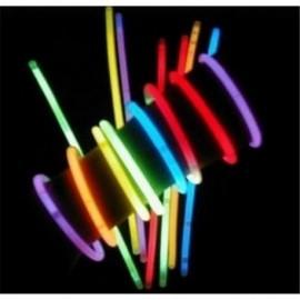 Pulseras removedores luminosos fluorescentes 100ud