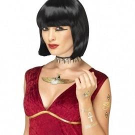 Tatuajes egipcios metalicos calcomanias