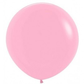 Globo balon rosa fashion solido r-36 90 cm unida